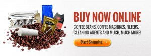 Buy Coffee Beans, Coffee Machines, Filters, Cleaning Agents Online
